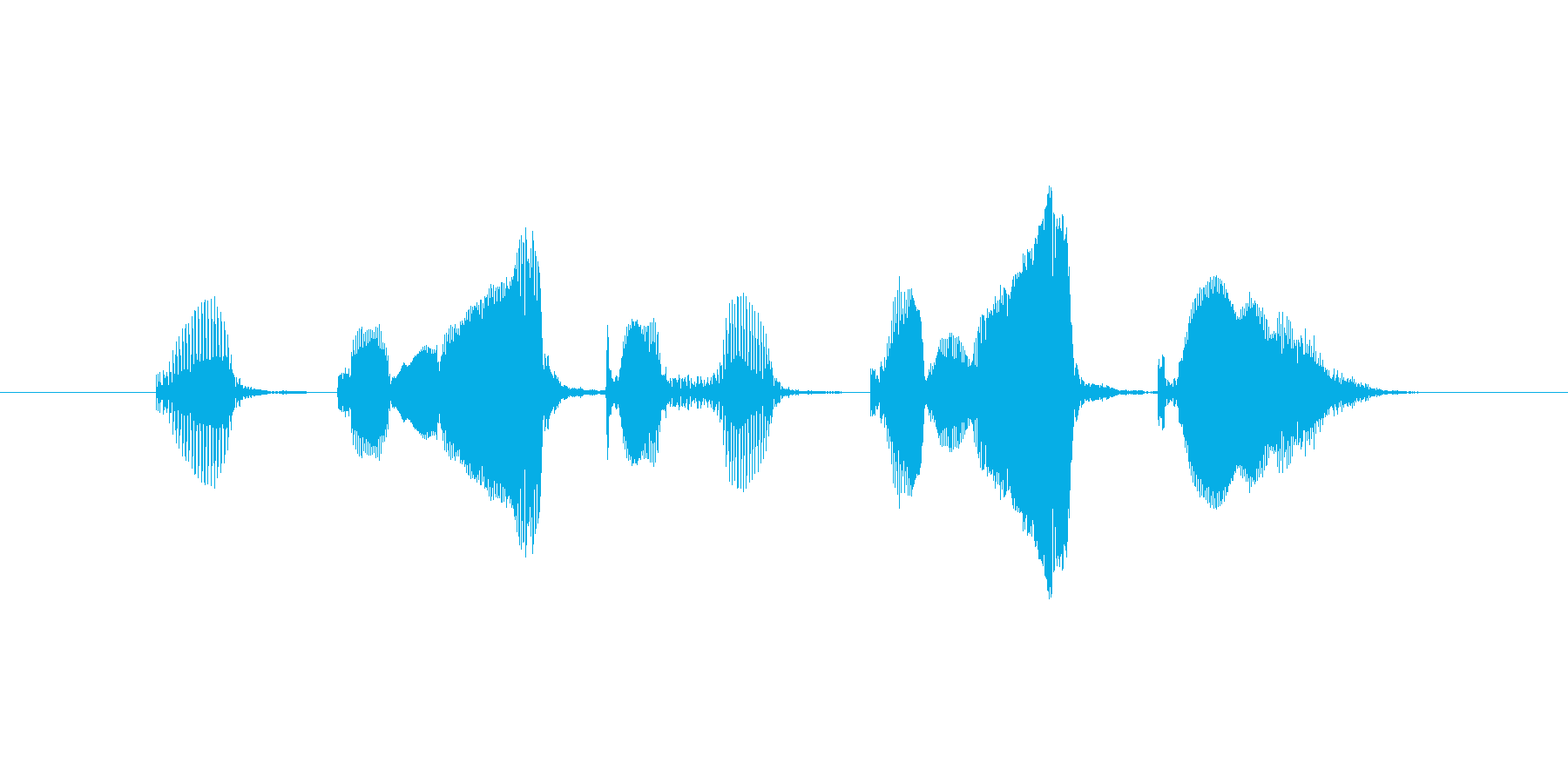 ブックマークブックマークの再生済みの波形