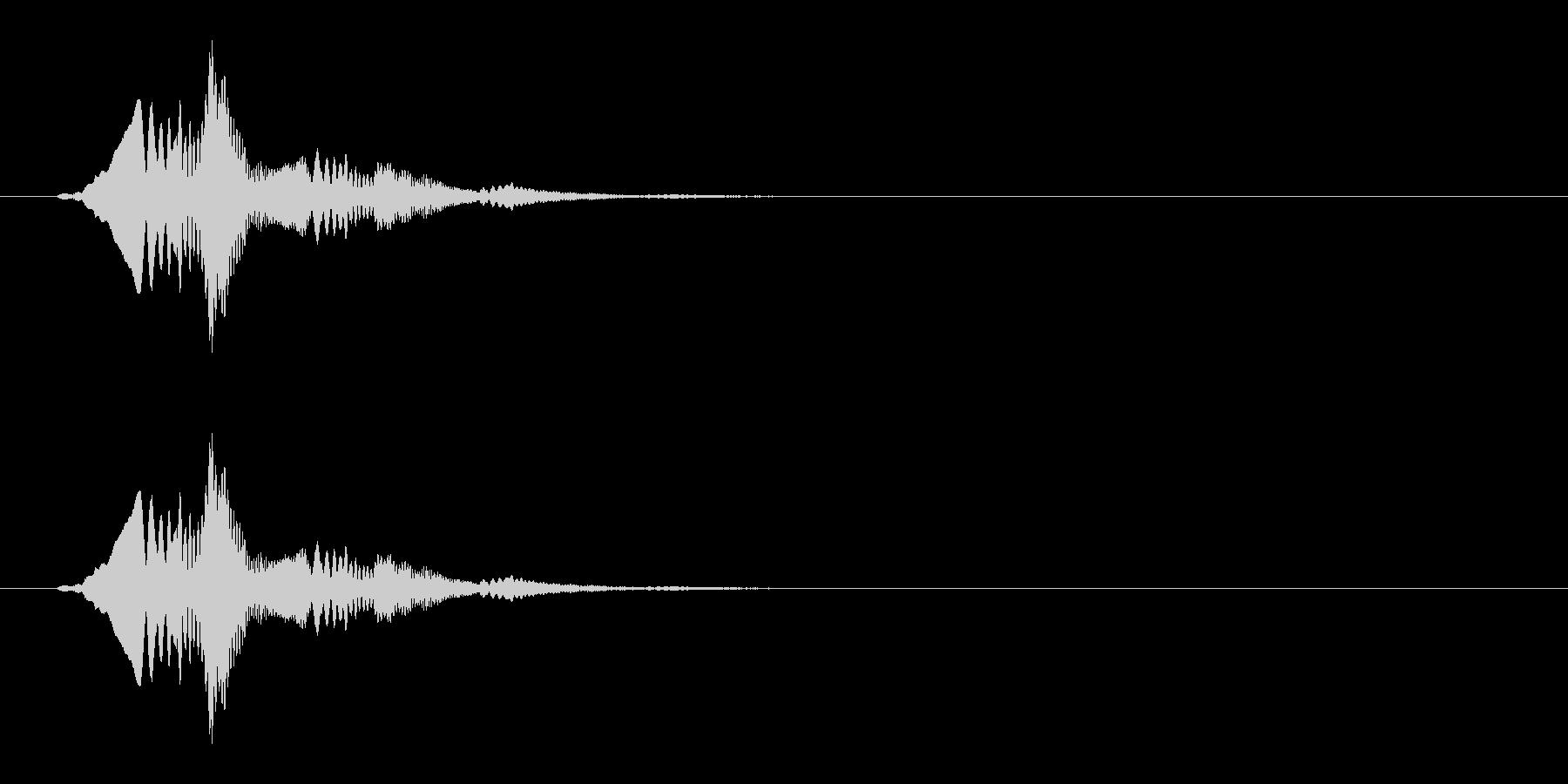 柔らかい(ゼリー/スライム/ぽわん)_2の未再生の波形
