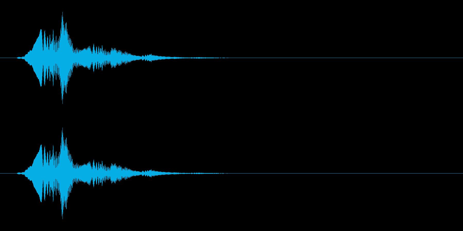 柔らかい(ゼリー/スライム/ぽわん)_2の再生済みの波形