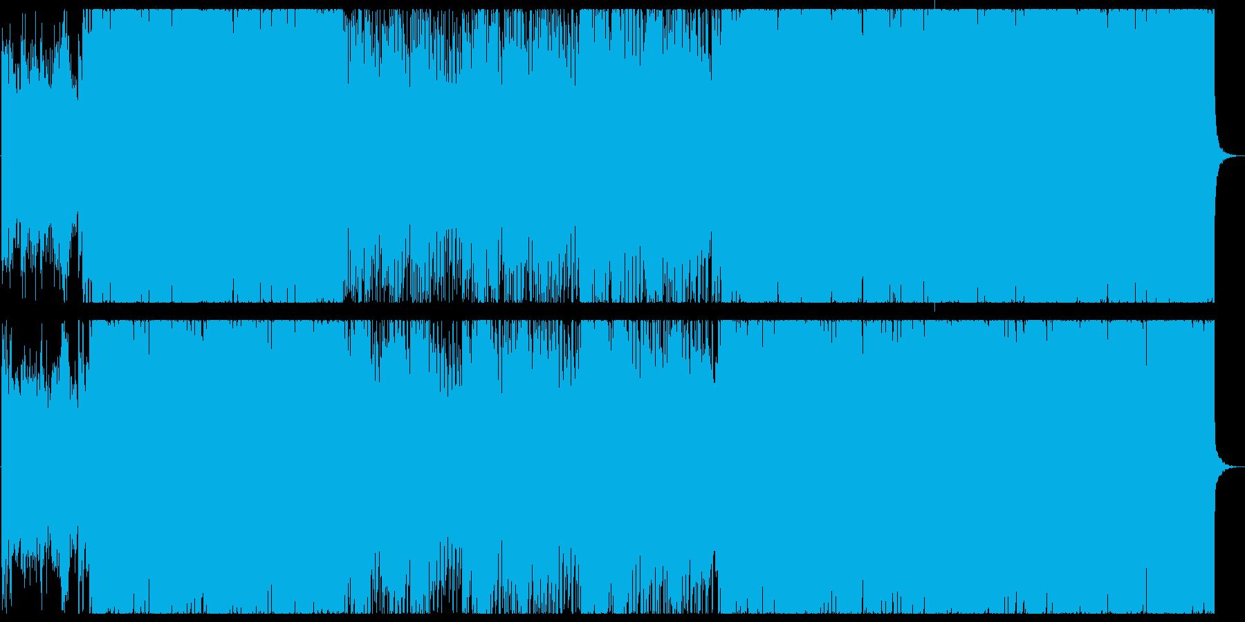 メロディアスで疾走感のある戦闘曲の再生済みの波形