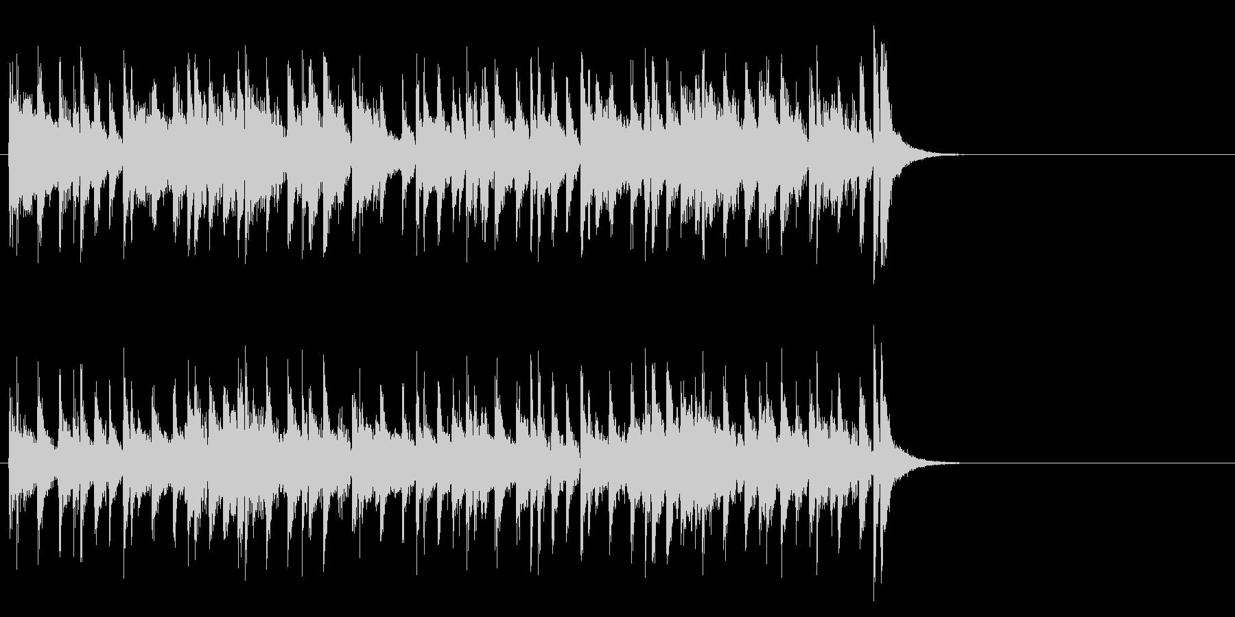 リラックスなフュージョン(Aメロ)の未再生の波形