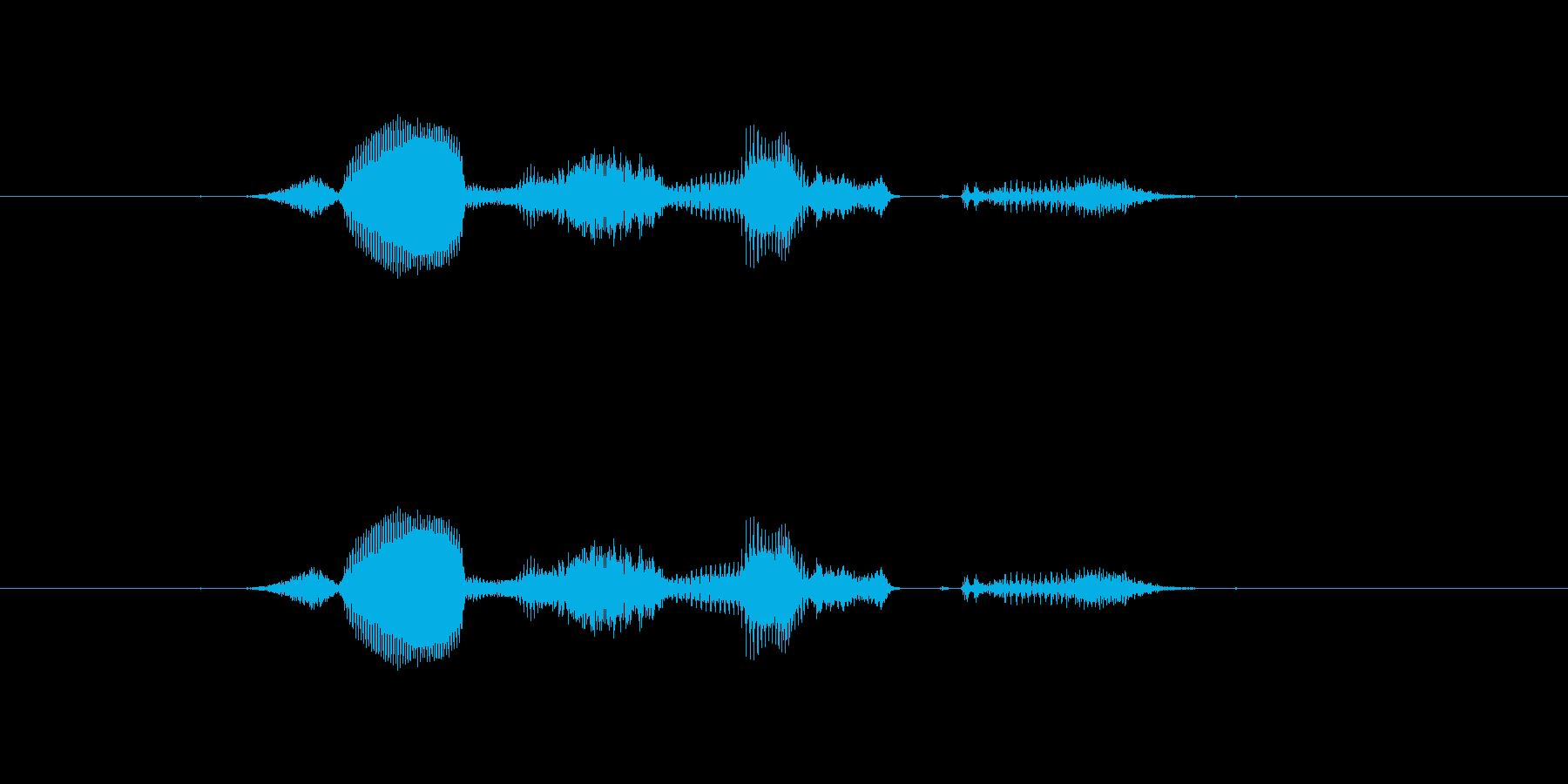 【システム】セーブしますか? - 1の再生済みの波形