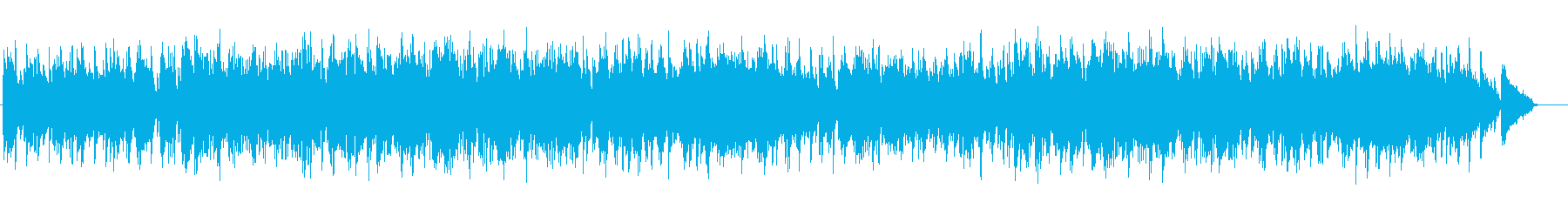 ジャズ風の優雅なBGM(フルサイズ)の再生済みの波形