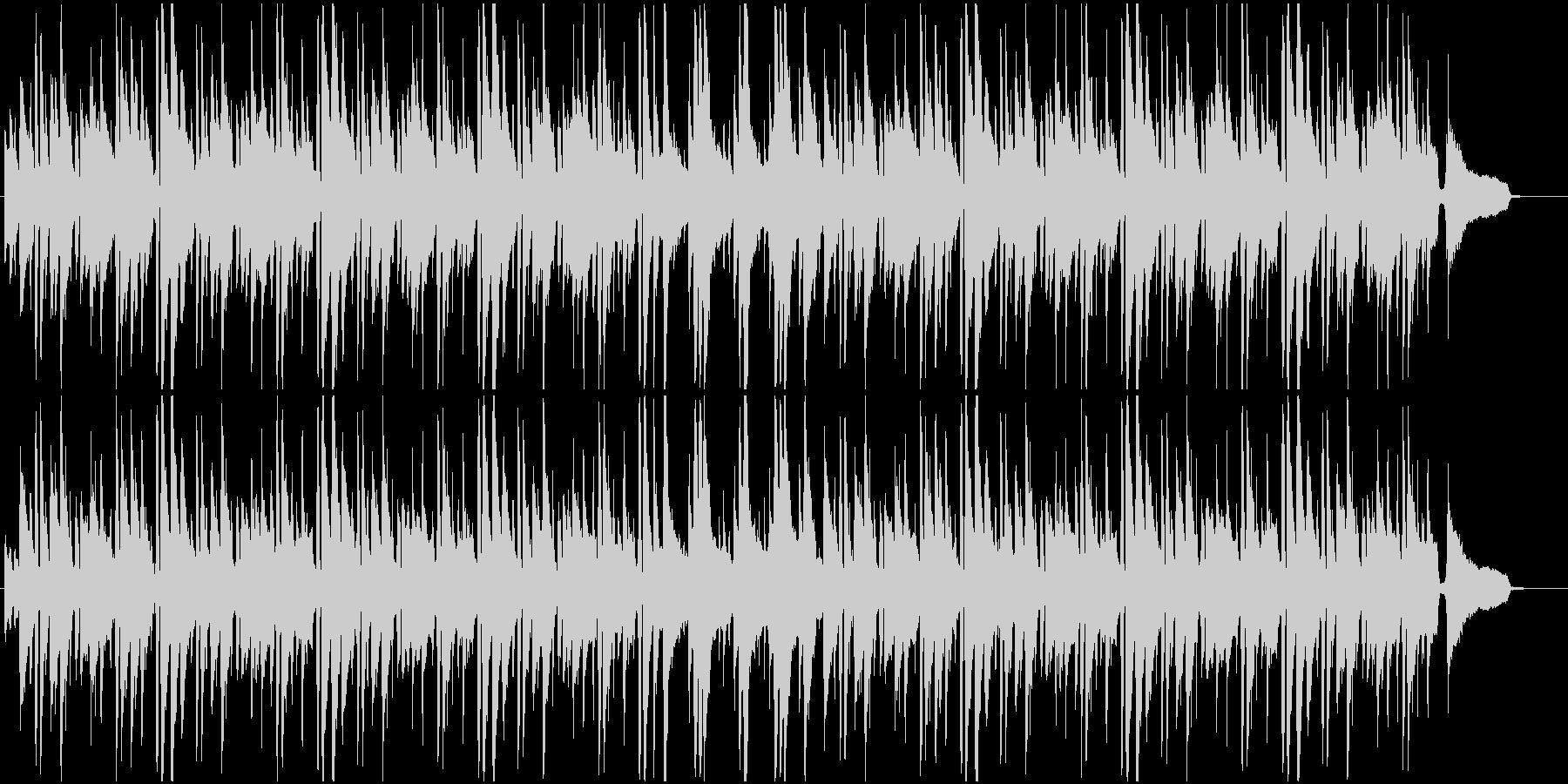 様々なシーンに合うしっとりボサノバの未再生の波形
