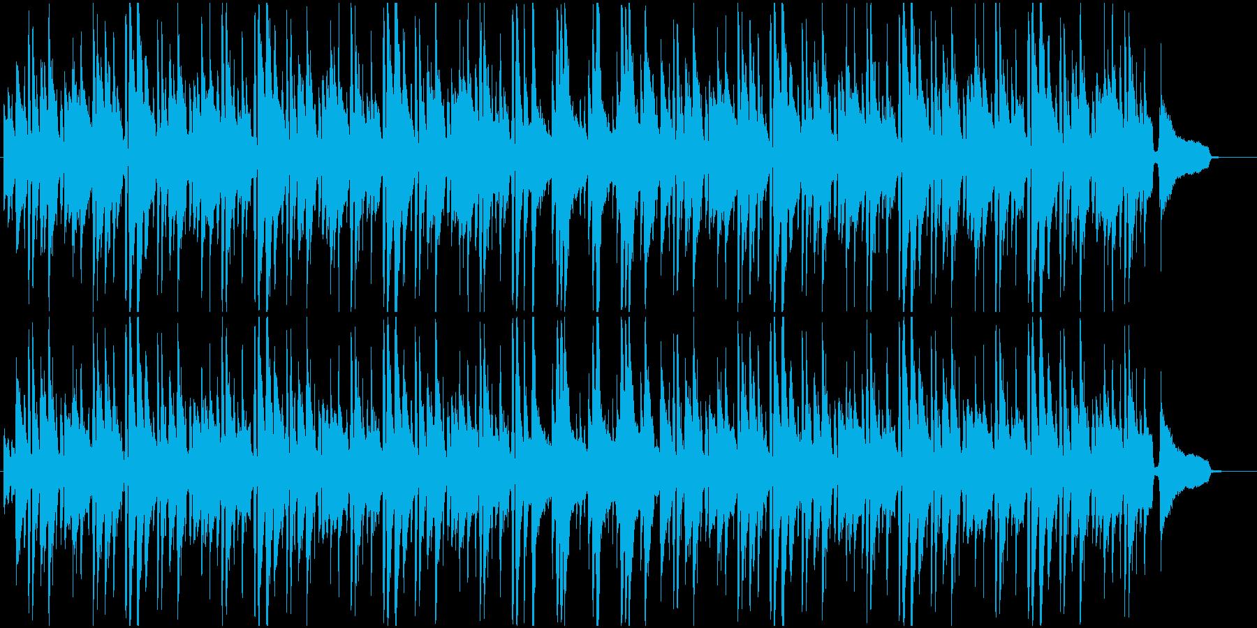 様々なシーンに合うしっとりボサノバの再生済みの波形