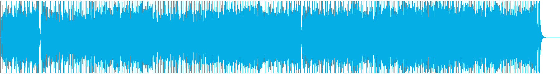 軽快 さわやか 情報 アウトドア 躍動の再生済みの波形