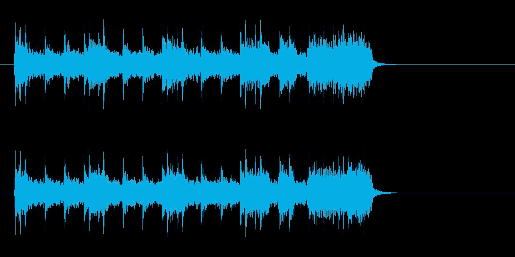アメリカンロック/ポップ(イントロ)の再生済みの波形