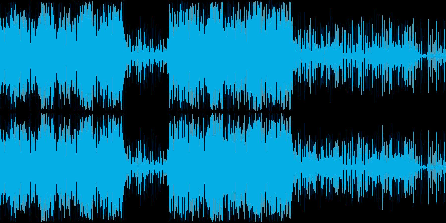 ループ再生素材です。ジャンルはドラムン…の再生済みの波形