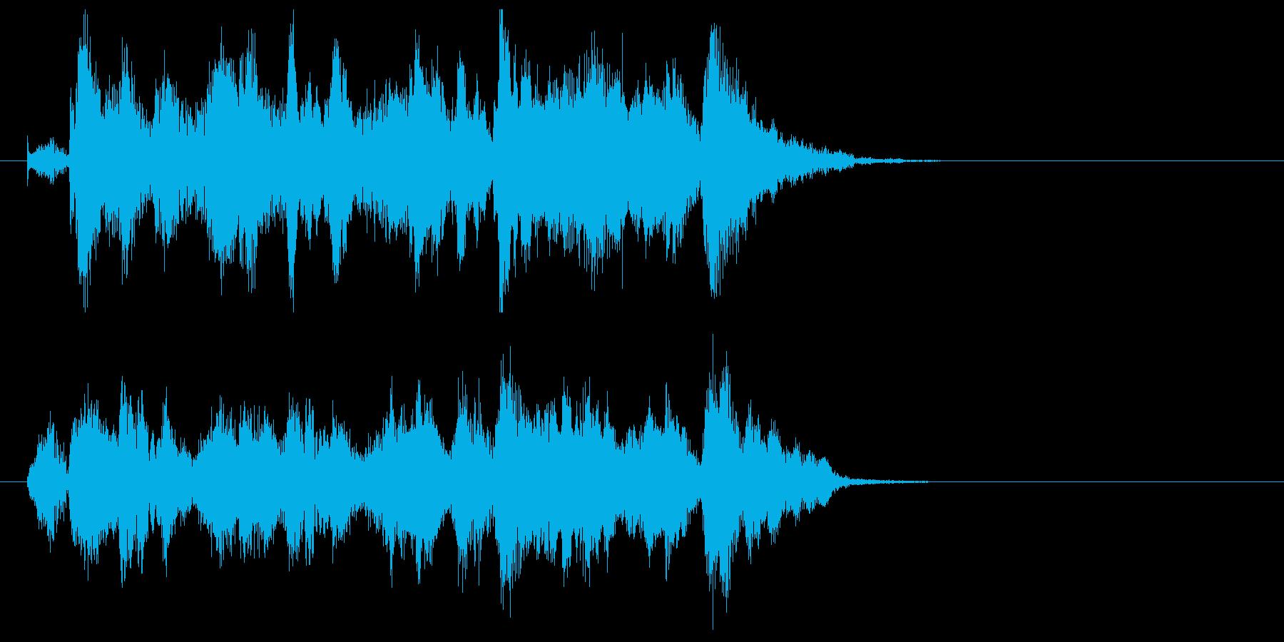 メルヘンでキャッチ―なポップジングルの再生済みの波形