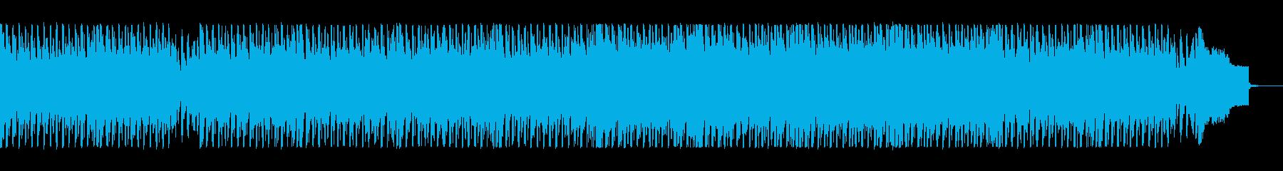 軽快な中に重みを感じるテクノポップスの再生済みの波形
