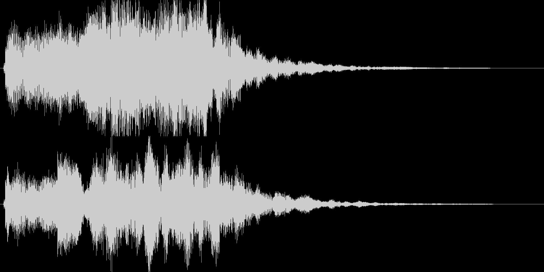 幻想的なジングル、サウンドロゴの未再生の波形