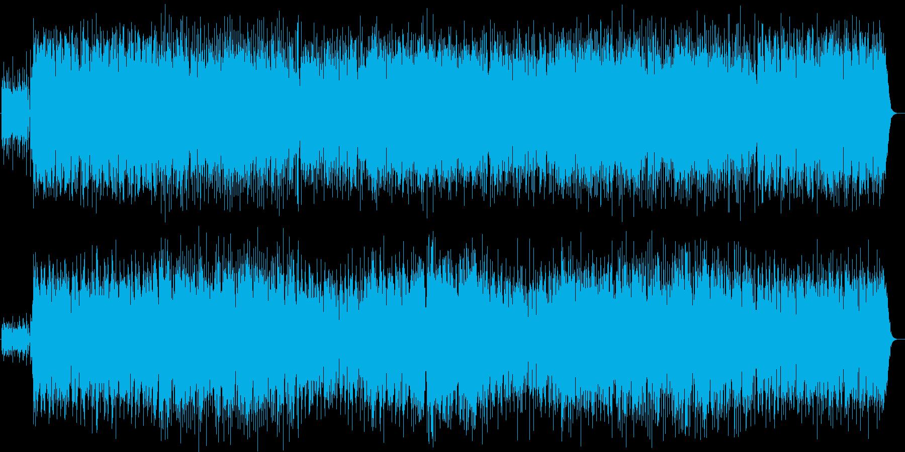 明るくゆったりシンセギターサウンドの再生済みの波形
