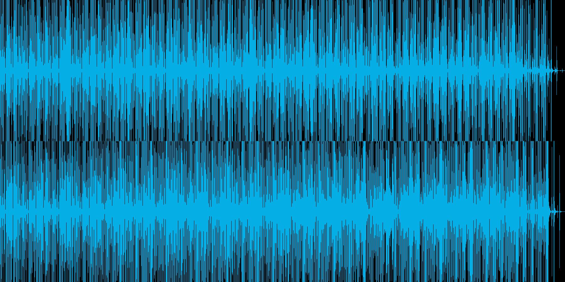 輝く雲海を飛翔するminimal dubの再生済みの波形