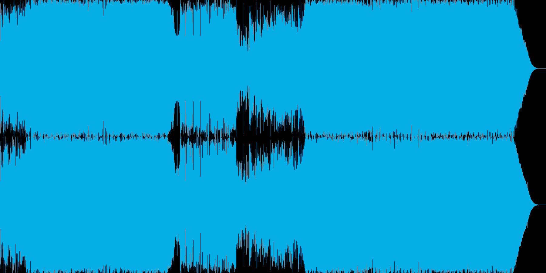 アレルギー反応をテーマに作曲しました。…の再生済みの波形