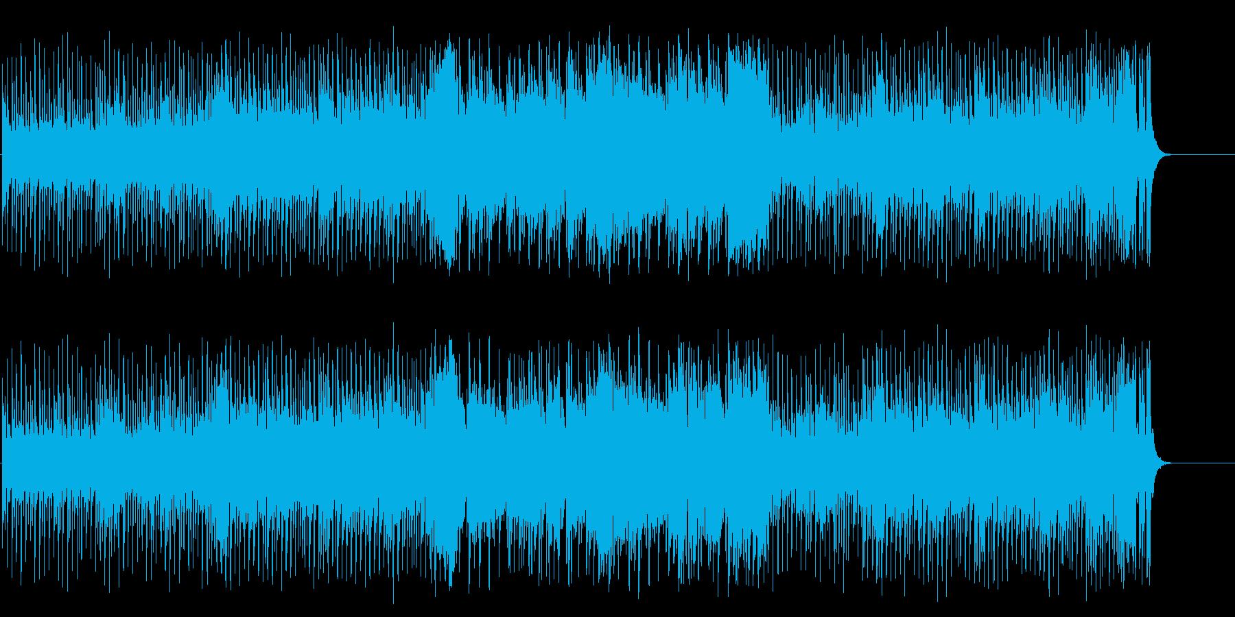 元気でノリノリのストレートなポップロックの再生済みの波形