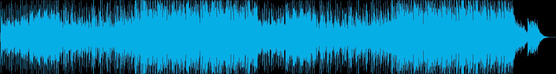 穏やかなコンテンポラリー・カントリーの再生済みの波形