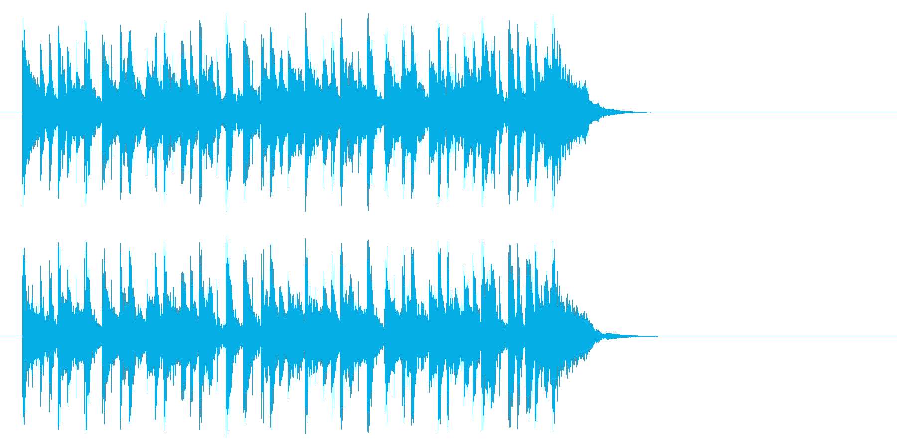 大人のポップ/ボサノバ(Aメロ)の再生済みの波形