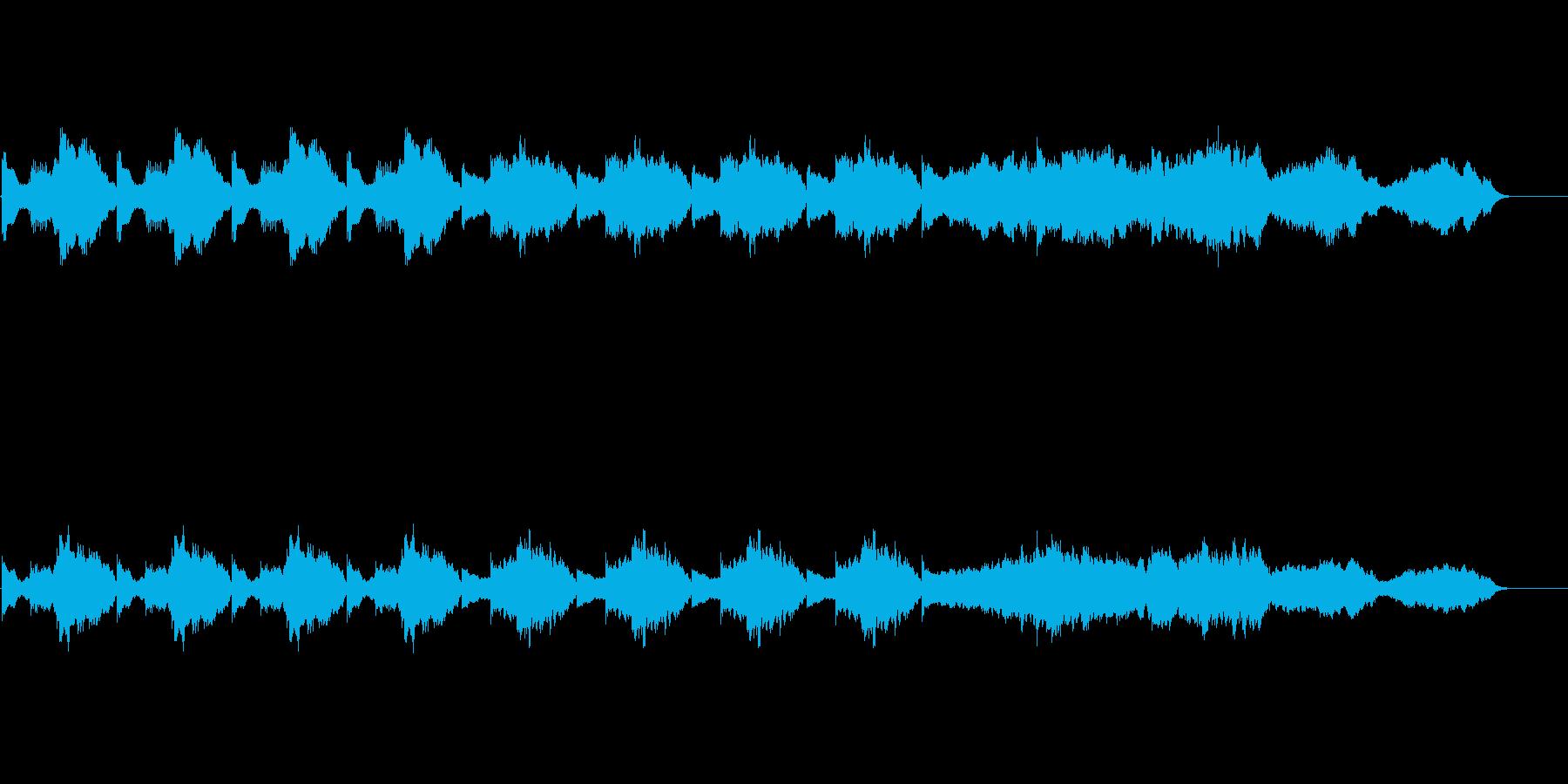 ホラー&サスペンス:忍び寄る不安の再生済みの波形