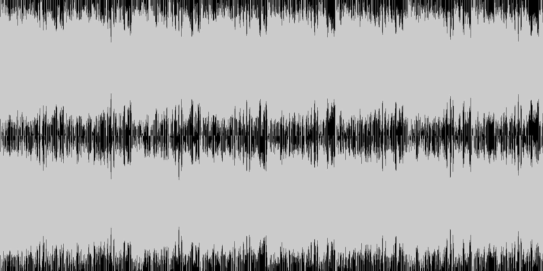 EDっぽい曲の未再生の波形
