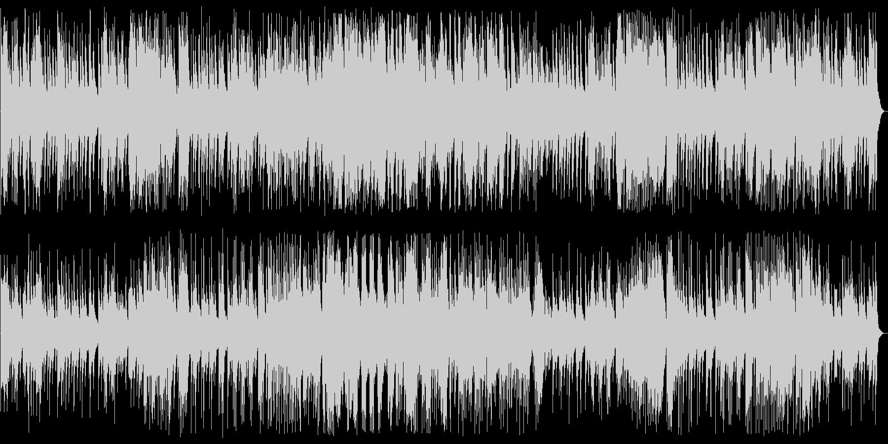 切なくムード満点のジャズ風ピアノの未再生の波形