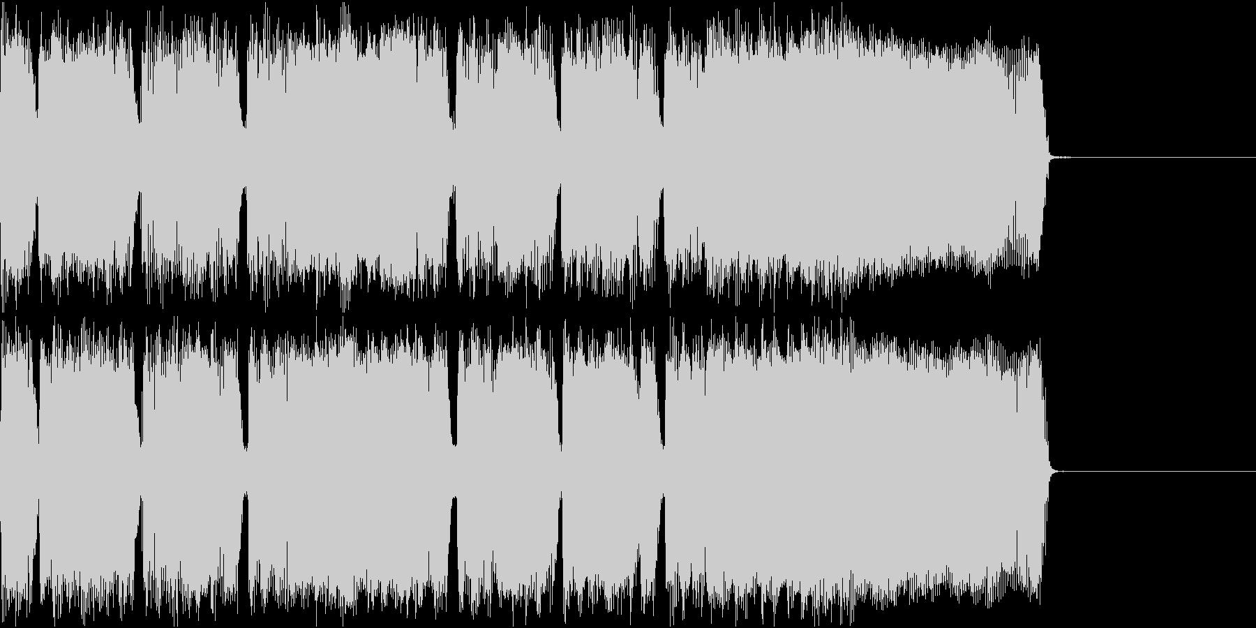 メタル ジングル ザクザク2の未再生の波形