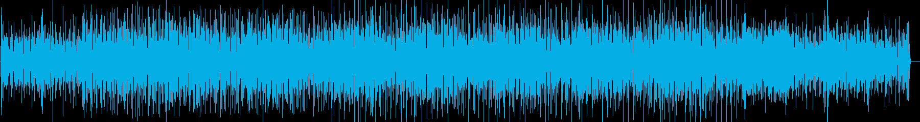 ピアノ、シンセ、疾走感のあるインスト曲の再生済みの波形