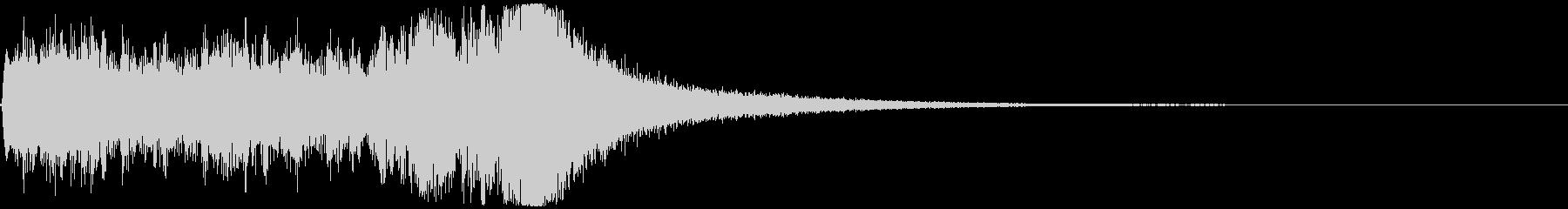 短めのドラムロール(抽選、コンテスト)の未再生の波形
