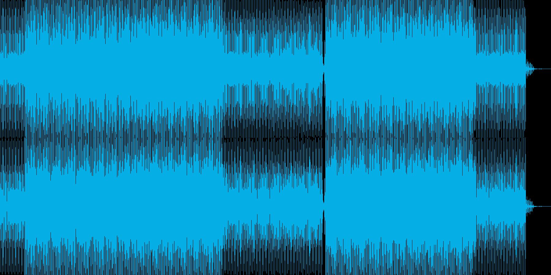 静かでノイジーでアンビエント的テクノの再生済みの波形