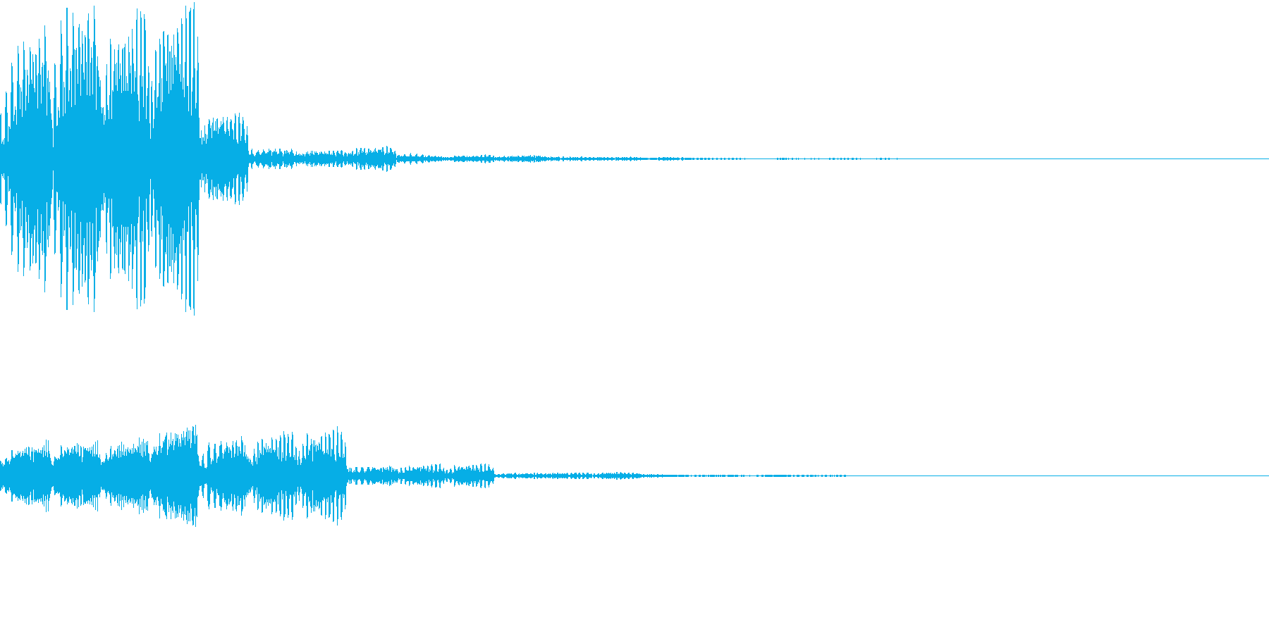 RPG 成功 レベルアップ 選択音 魔法の再生済みの波形