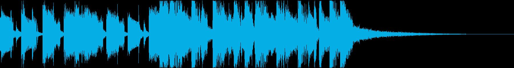 オープニングやキャラ紹介のSEの再生済みの波形