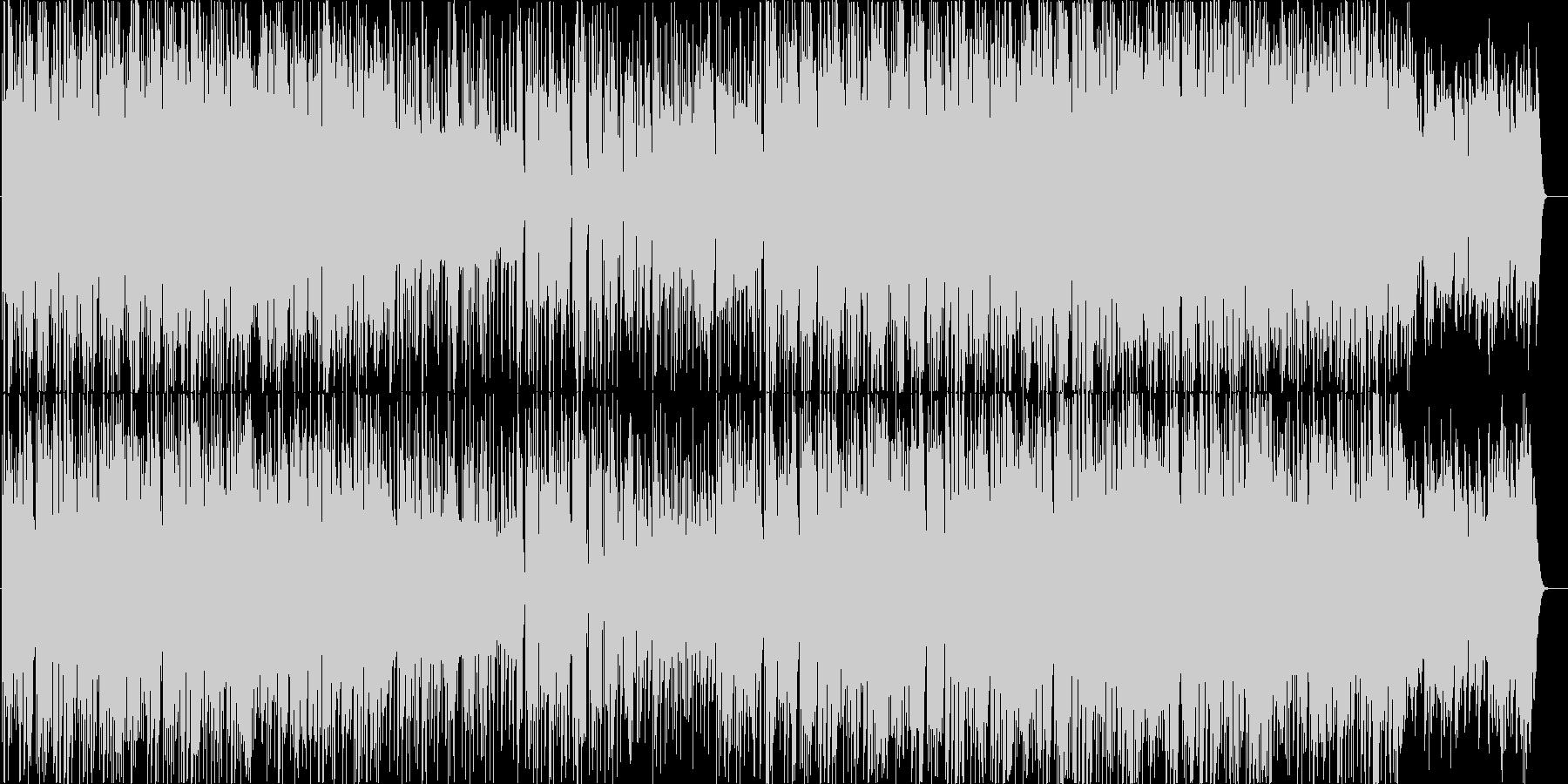 CM向けオシャレで可愛いポップなダンス曲の未再生の波形