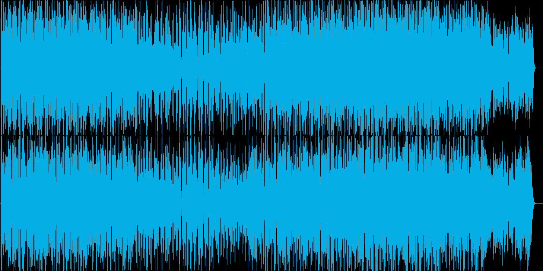 CM向けオシャレで可愛いポップなダンス曲の再生済みの波形