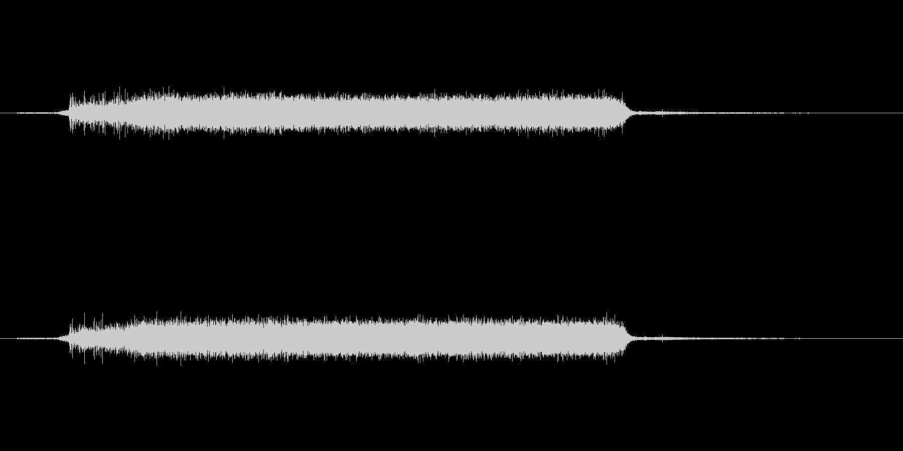 生活音 - 家の中 - 鍋に水を貯めるの未再生の波形