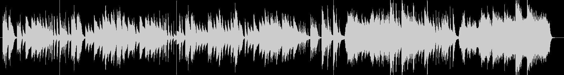 日常のコミカルな場面向けピアノBGMの未再生の波形