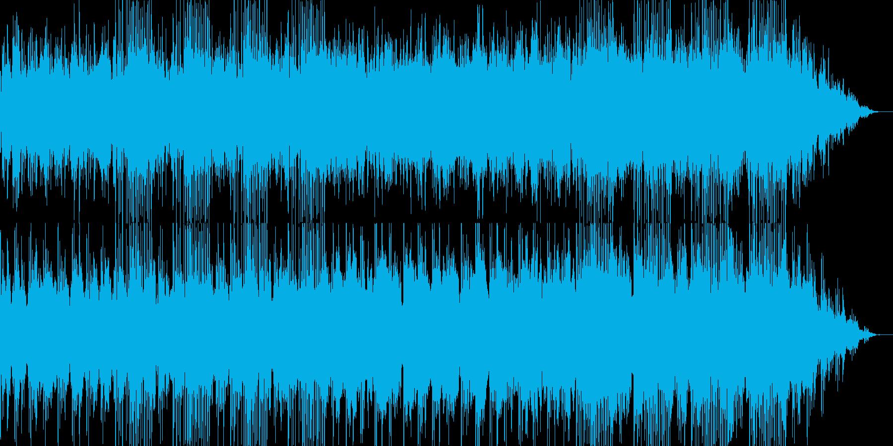 物悲しい・ノスタルジックな曲の再生済みの波形