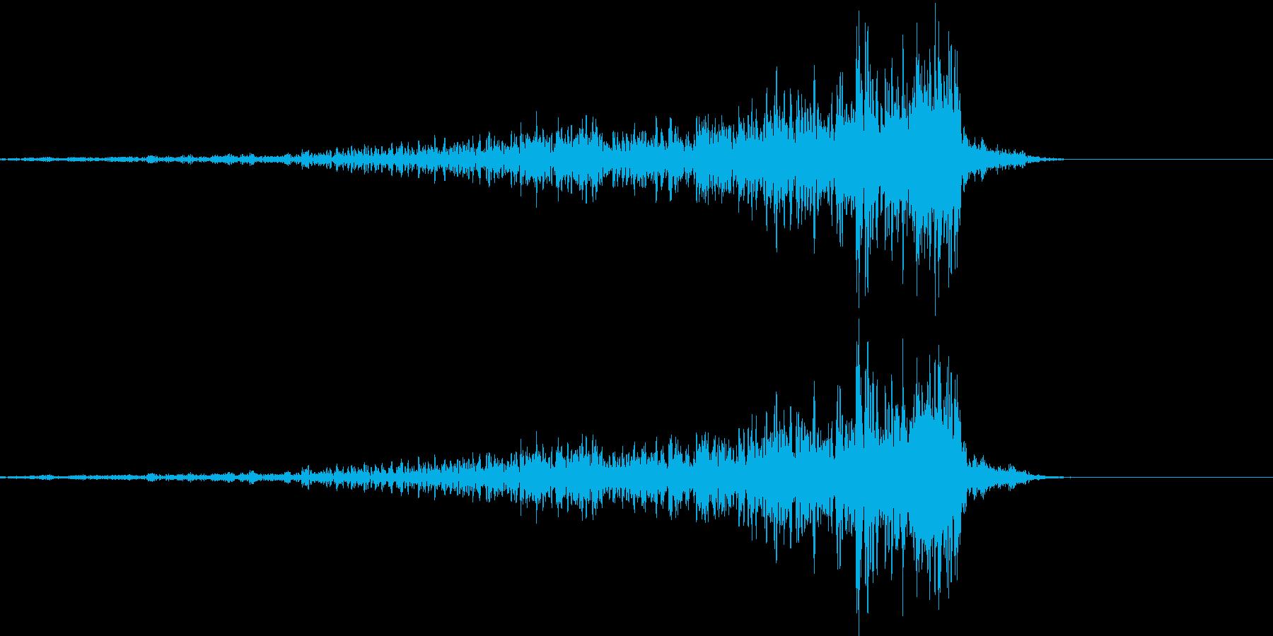 192_リバース6の再生済みの波形