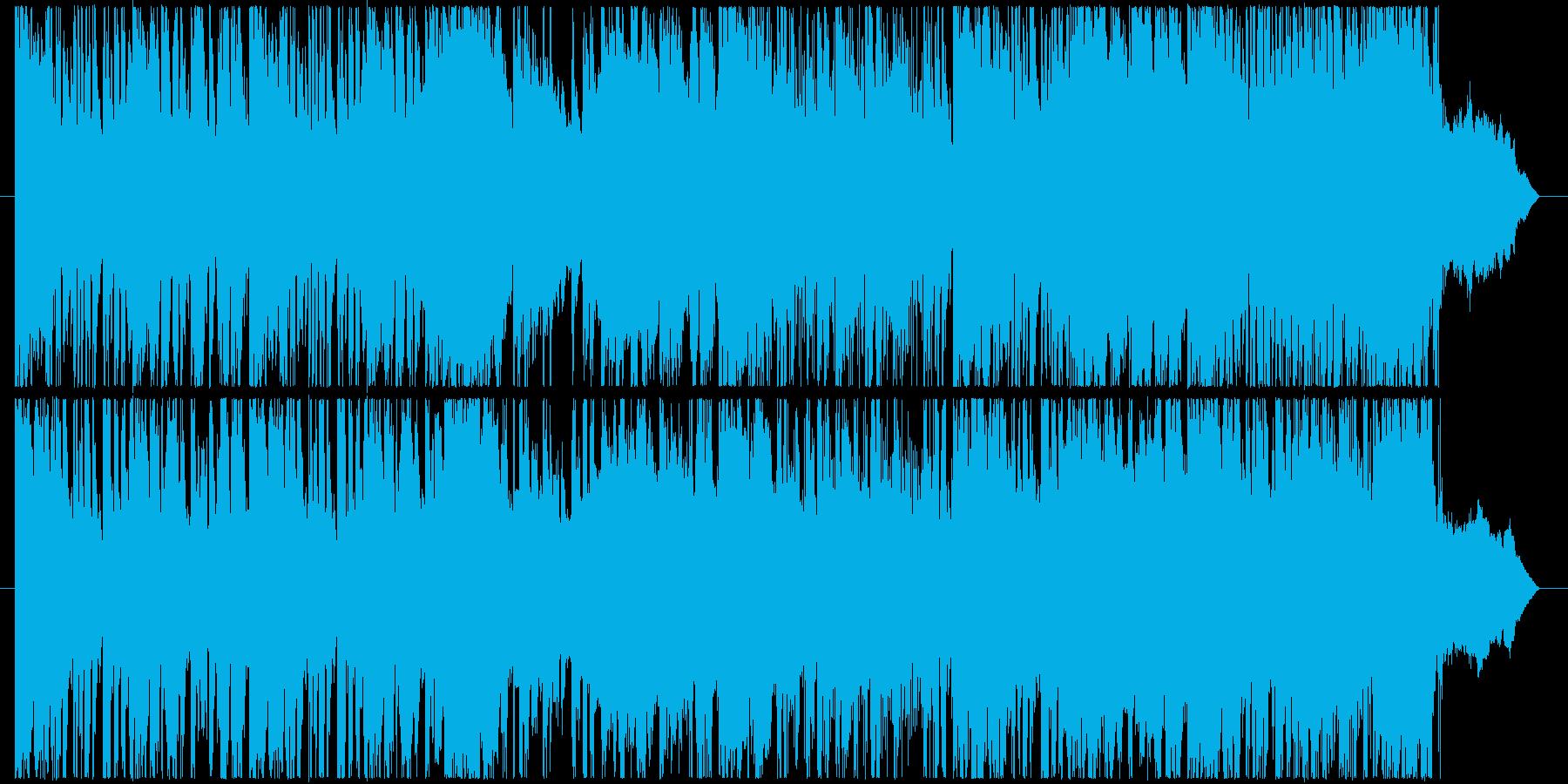 金属音などを取り入れたサウンドです。の再生済みの波形