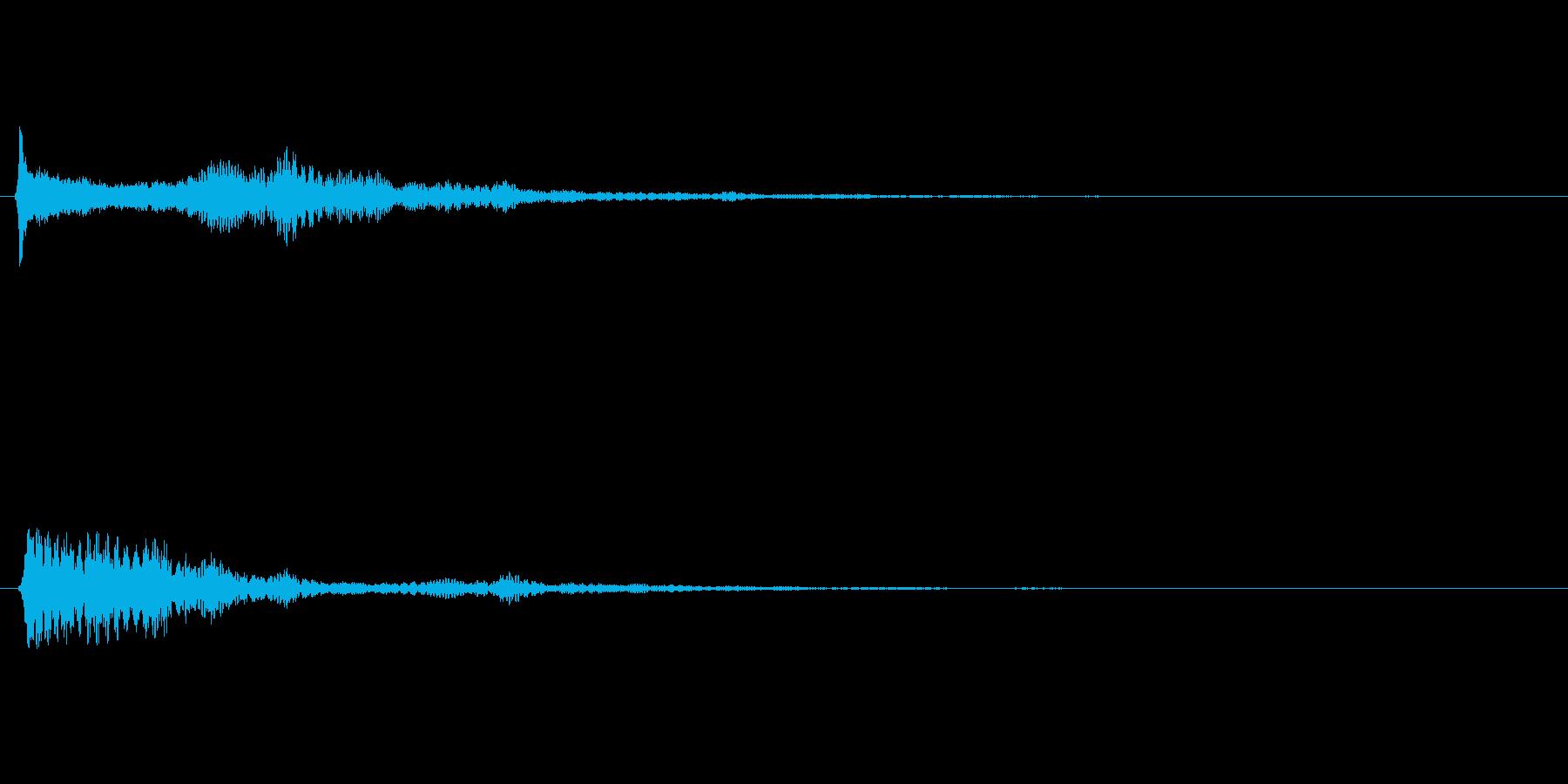 キラキラ系_105の再生済みの波形