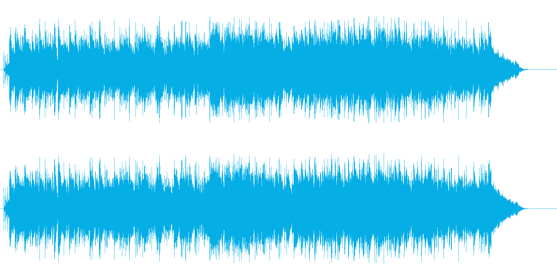 午後の演出向けボサノバ・ミュージックの再生済みの波形