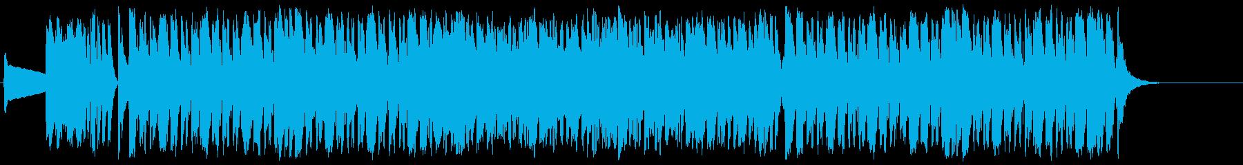 コミカル おちゃらけ にぎやか イベントの再生済みの波形