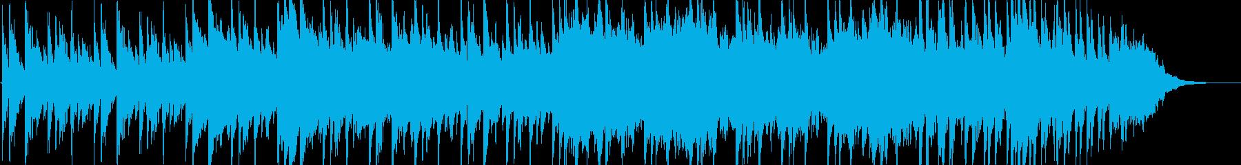 和をテーマにした曲の再生済みの波形