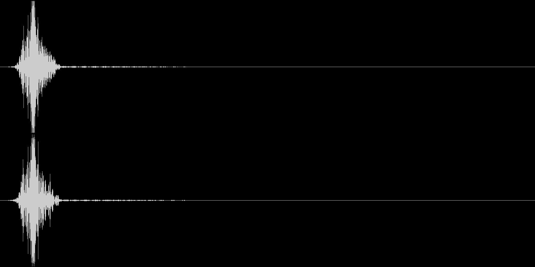 KAKUGE 格闘ゲーム戦闘音 19の未再生の波形