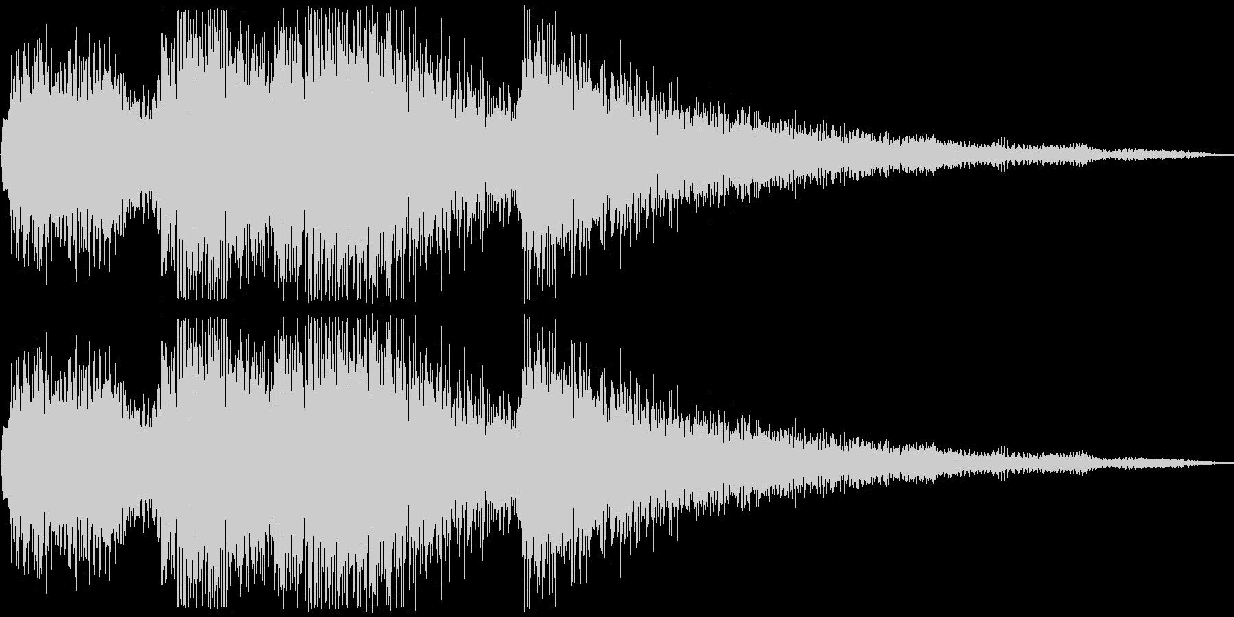 キラリン(アイテム獲得音)の未再生の波形