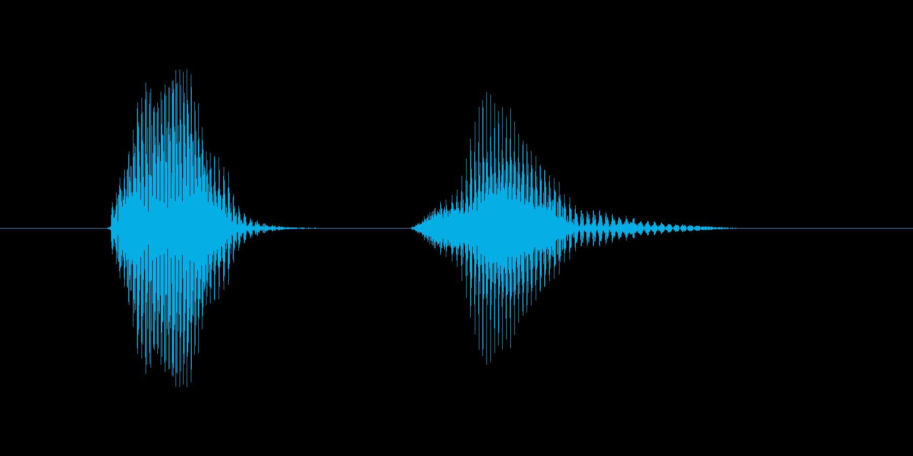 第十問の再生済みの波形