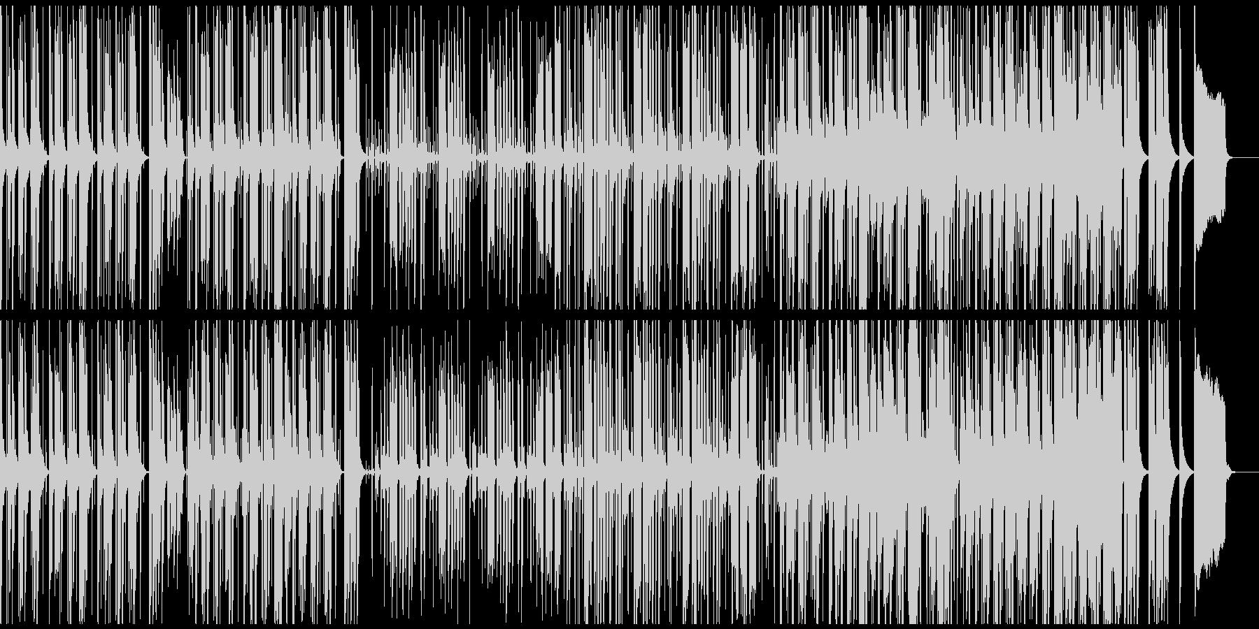 春らしい軽快なトイトロニカの未再生の波形