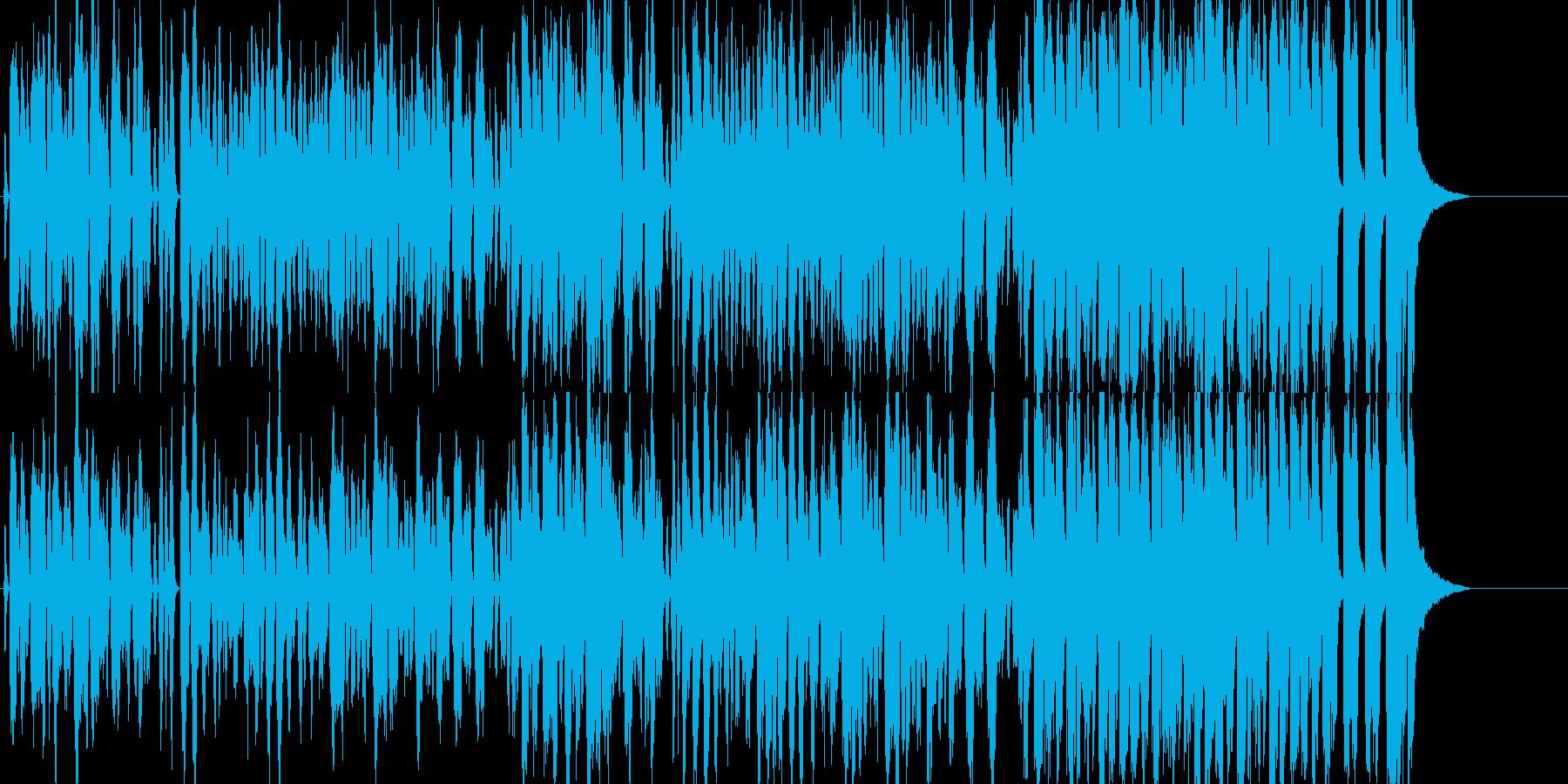 楽しくコミカルな行進曲の再生済みの波形