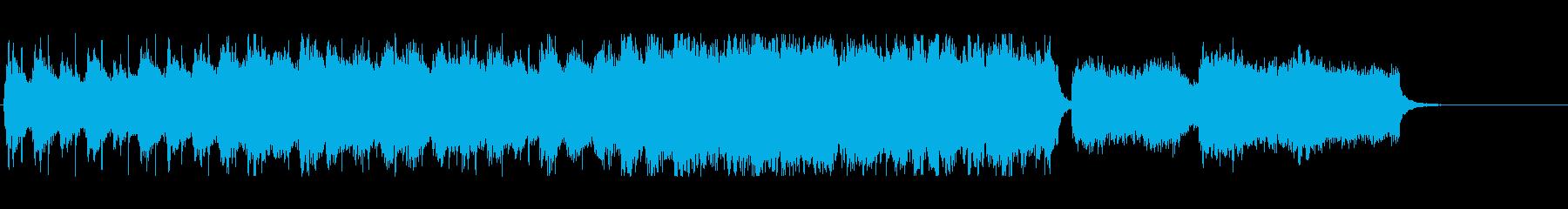 メルヘン 夢 ディズニー 子供 遊園地の再生済みの波形
