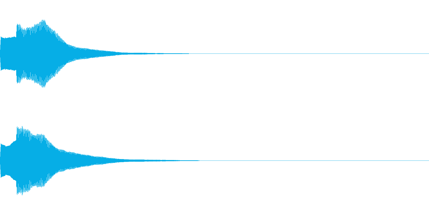 決定音72_シンセAIの再生済みの波形