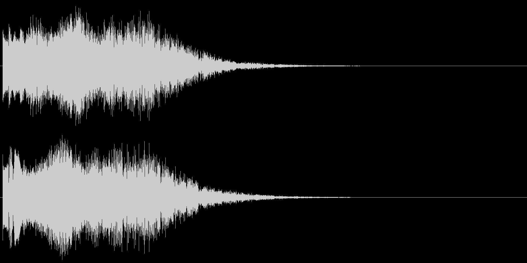 魔法音10の未再生の波形