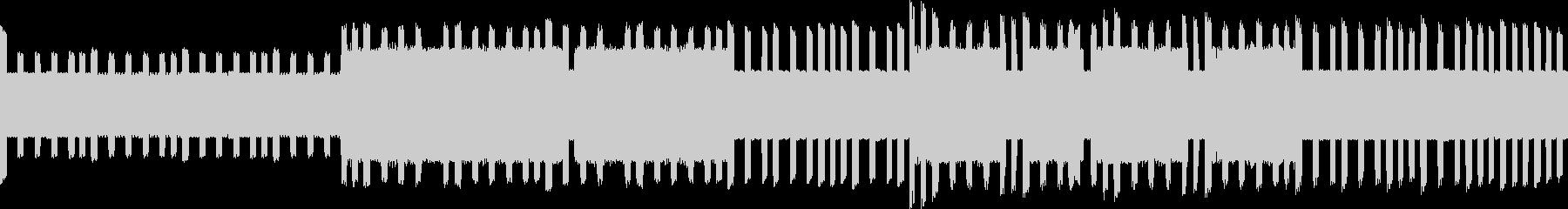ファ○コン風のピコピコ音楽の未再生の波形
